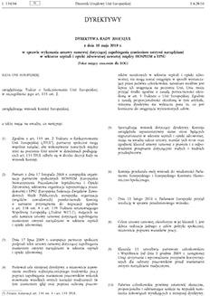 Dyrektywa Rady