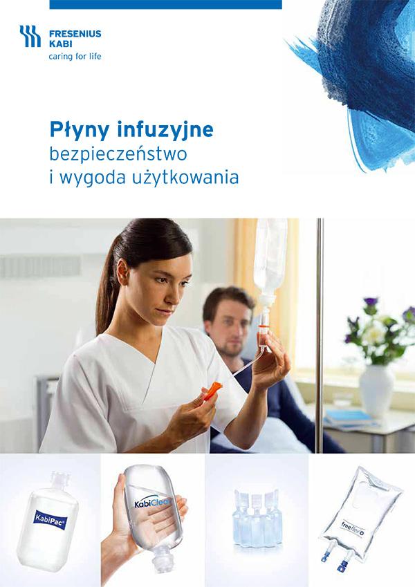 Opakowania płynów infuzyjnych